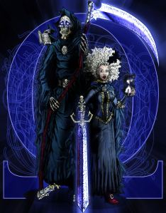 Discworld___Death_and_Susan_by_ReverendTrigster