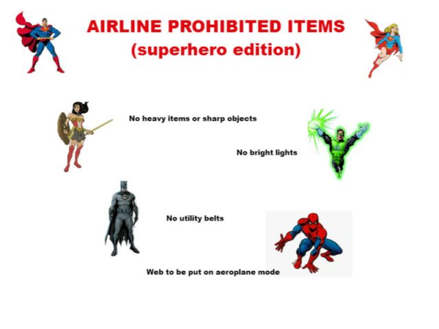 Superhero airlines